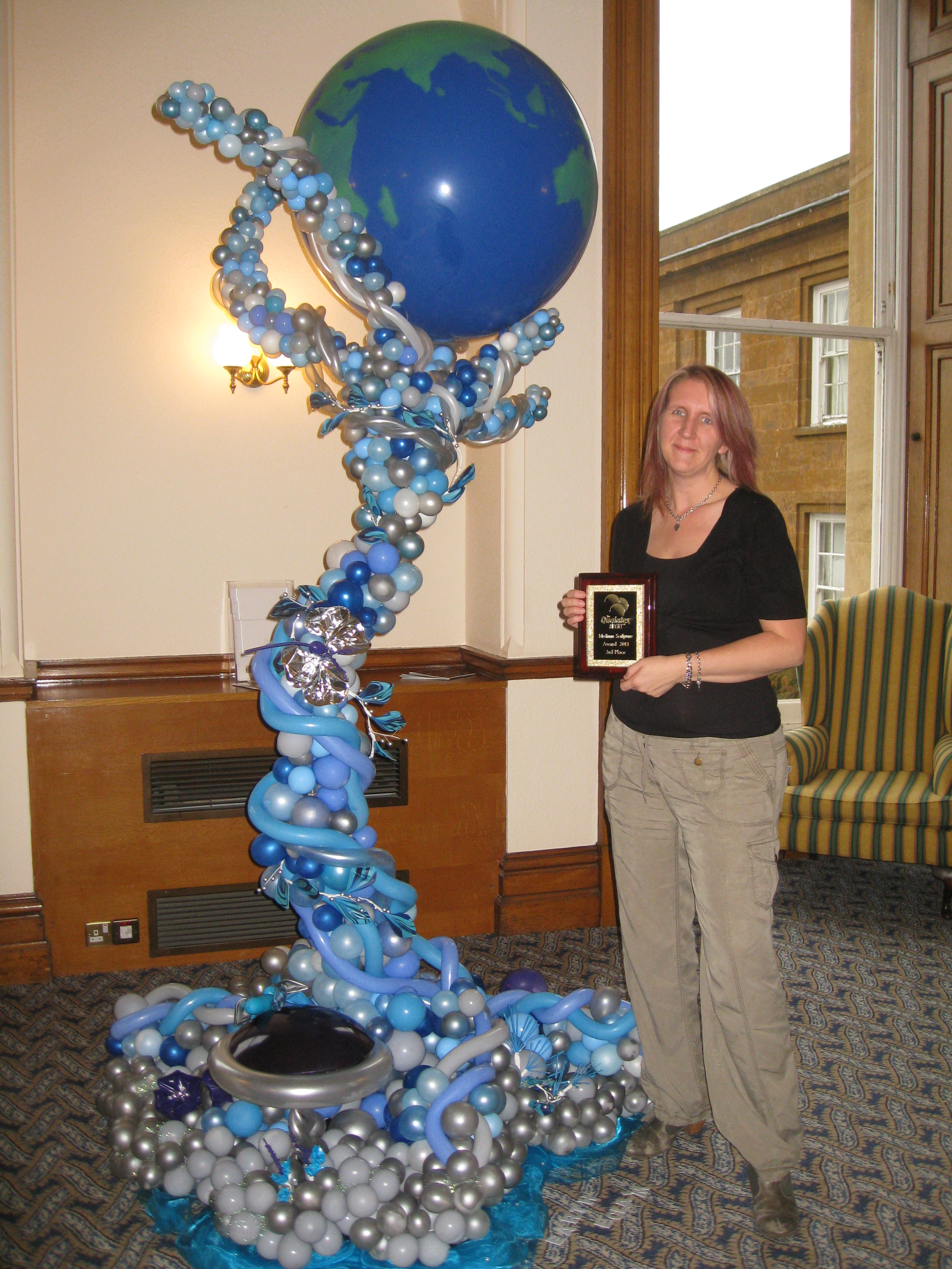 Inflated Ideas Offer Nabas Approved Balloon Decoration