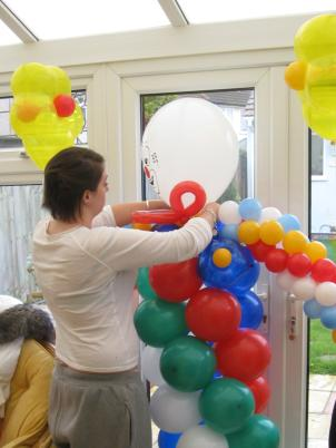 One day Advanced Skills Balloon Decoration training course